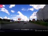 ДТП на светофоре у остановки ул. Смирнова.