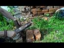 Походный нож из 95Х18 может колоть дрова - НОЖ-РЕЗАК.РФ
