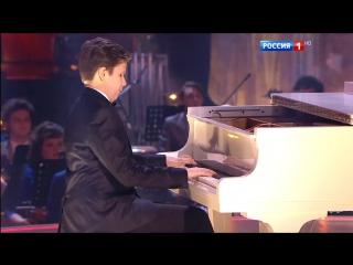 Синяя птица. Евгений Николаев рояль и Сергей Гармаш. Вальс Мимолетные мысли