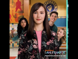 Frankie may look like a normal #teen, but she's hiding a big #secret 🤖 get the full picture on our new show @iamfrankie! 💜