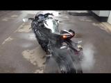 Kawasaki ninja h2 живой звук турбомонстра ??