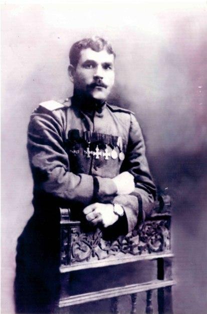 Полный Георгиевский кавалер, подполковник Русской армии Владимир Иванович Долматов
