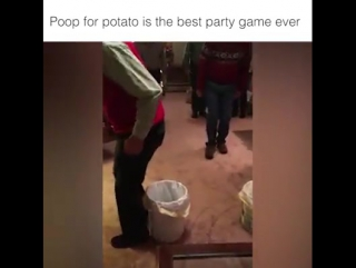 Poop for potato is the best party game ever