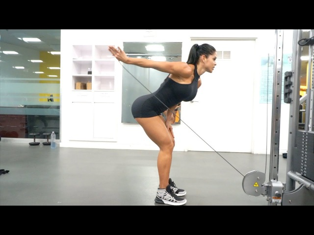 MICHELLE LEWIN Workout: Triceps and Shoulders