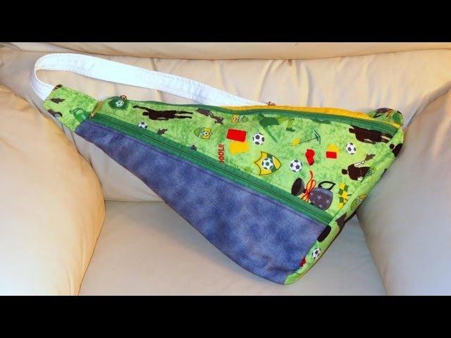 Mochila esportiva de tecido - Mochila de tecido - Maria Adna Ateliê - Bolsa esportiva