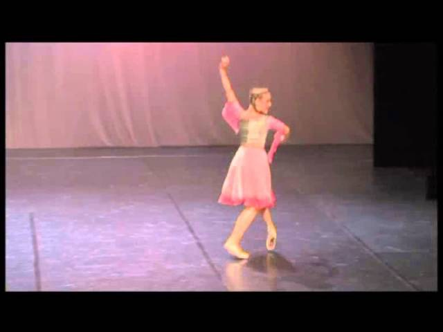 Eliisa Nenonen age 16 Nune's variation from the Gayaneh ballet
