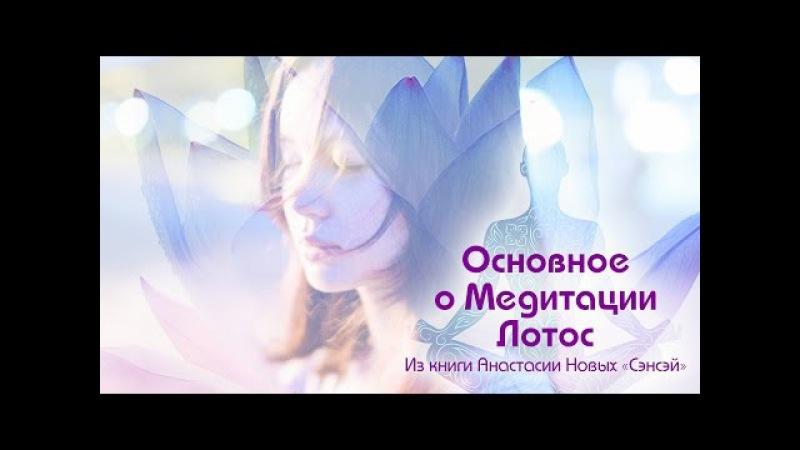 Основное о Медитации Лотос. Из 13-го выпуска программы Вдвоём наедине (allatra.tv)