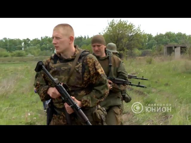 На передовой у батальона Захара Прилепина. 12.06.2017,