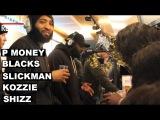 P Money, Blacks, Slickman, Kozzie &amp Shizz W DJ Neffa T - Reprezent Radio  Grime Report Tv