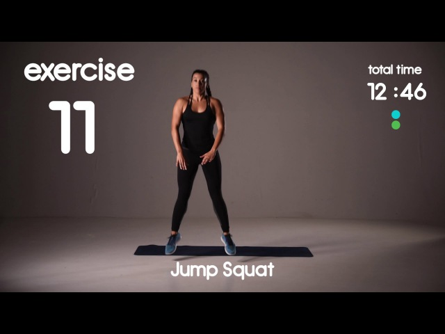 20 min Abs Cardio HIIT Workout Belly Fat Burner 25s 15s 40s 20s Intervals