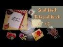 Mail art Snail mail tutorial Неделя писем третий выпуск Decoration AMIX