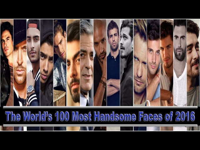 The World's 100 Most Handsome Faces of 2016