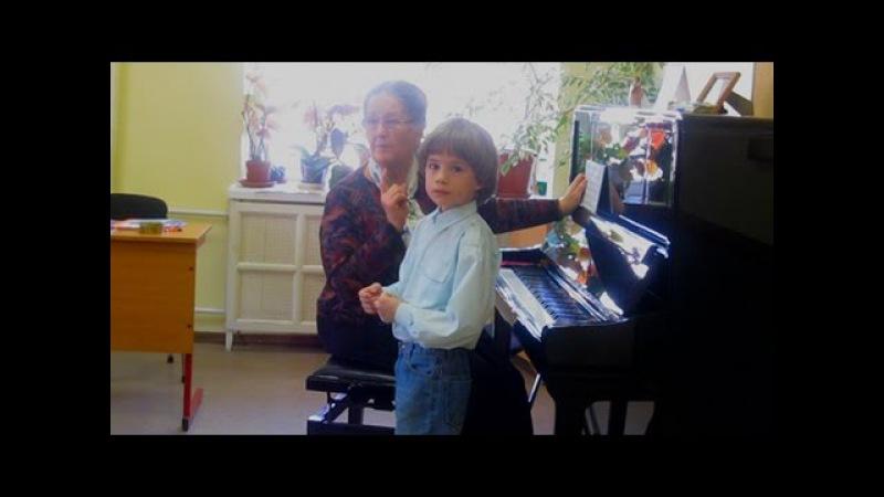 Проверка слуха Экзамен в 1класс ЦМШ А Шило 6л муз школа при Мос консерватории