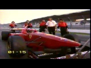 Fiat F1 97 vs Ferrari 550 Maranello With Michael Schumacher