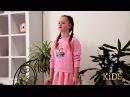 Видео визитка Участница ПОЛИНА Морозова Celebrity Kids 2017 Spb конкурс красоты и талант