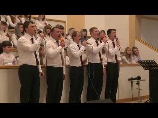 Песня - Я таков как был / 12 апреля 2015 (вечер) / Церковь Спасение