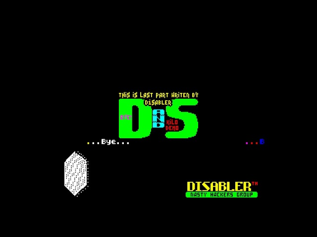DS Kilodemo - Disabler/SCH Soft [zx spectrum]