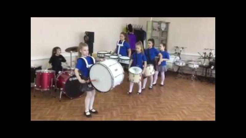 Оркестр Расцветающих Барабанщиц Маршаньетки
