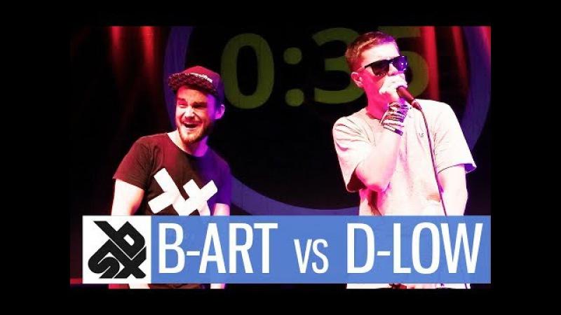 B ART vs D LOW Shootout Beatbox Battle 2017 SMALL FINAL
