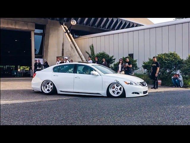 【お帰り動画④】 wekfest japan2017 車高短 シャコタン Lowered exhaust Low car