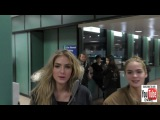 Brighton Sharbino and Saxon Sharbino jokes about what to do if someone spits on you while talking at
