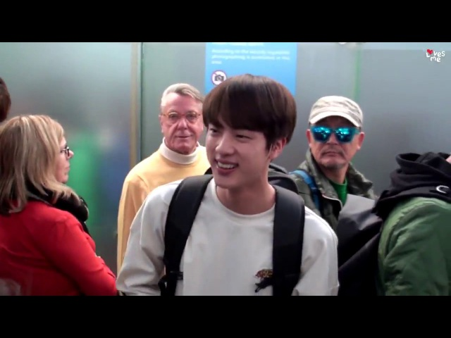 [ENG/ESP/POR]Jin shy by ARMY compliment