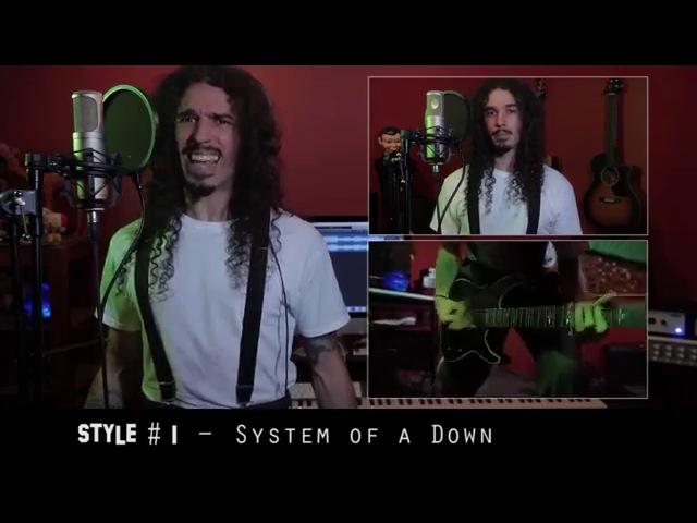 Кавер-версии на песни группы System Of A Down