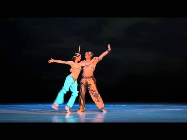 Н. А. Римский Корсаков, адажио из балета Шехерезада, хореография М. Фокина