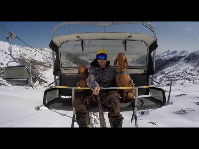 The VIZSLA Drone-Snowboard-Movie