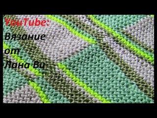 Вязание спицами: соединительные швы - 5 МК. Топ-майка спицами, невидимый и матрасн...
