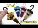 DIY Mini Doll Accessories Umbrella / Felt Craft