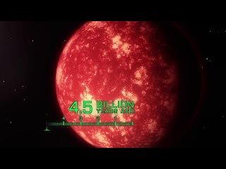 Эволюция нашей планеты в 4,5 миллиарда лет HD