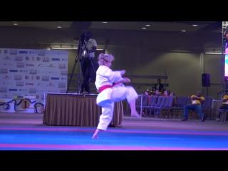 PKF 2017 - Female Kata Final - Dimitrova vs. Kokumai