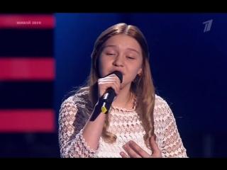 Лиза Качурак (13 лет) Голос дети (03.03.2017)