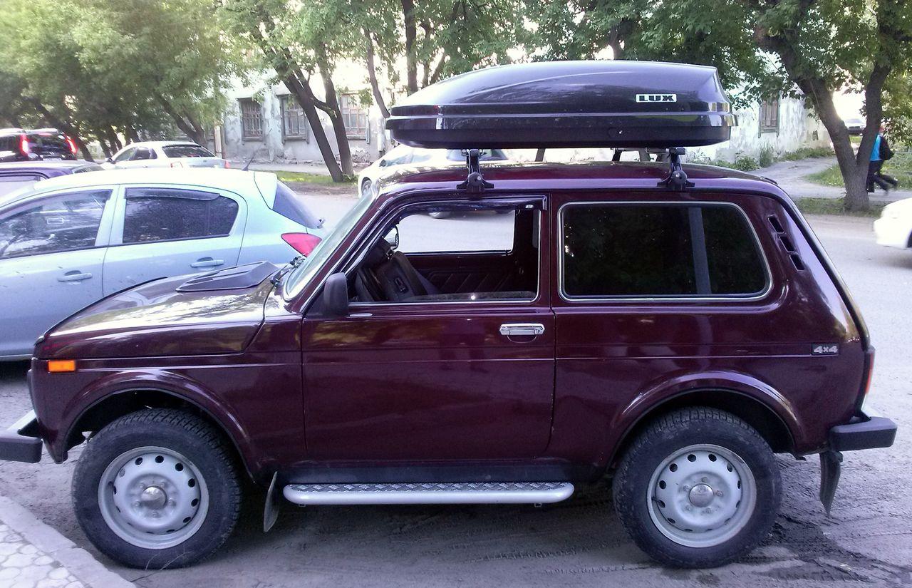 Багажники на крышу ВАЗ водостоки