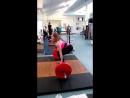 15-летняя Ксения Купа. Становая тяга 130 кг