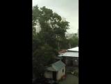 Ураган в Москве 29.05.2017. Крыша улетела.