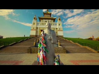 Самое лучшее и интересное видео о калмыцком Хуруле. Калмыцкий хурул в Элисте - Золотая обитель Будды Шакьямуни | Калмыкия