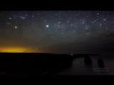Галактика Млечный путь на ночном небе