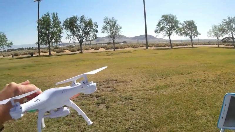 Радиоуправляемый Квадрокоптер Syma X5SW с трансляцией видео на смартфон (31 см, 2.4Ghz)