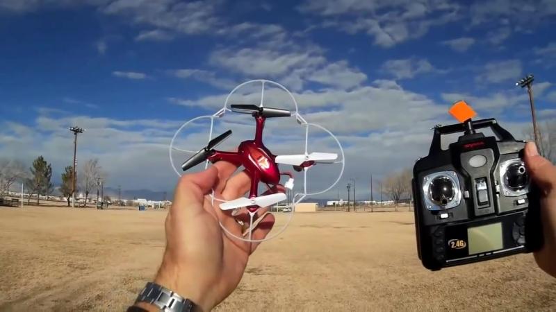 Радиоуправляемый Квадрокоптер с камерой Syma X11C (15 см, 2.4Ghz)