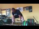 Стоян Андреев - тяга 380 кг на 2 повтора