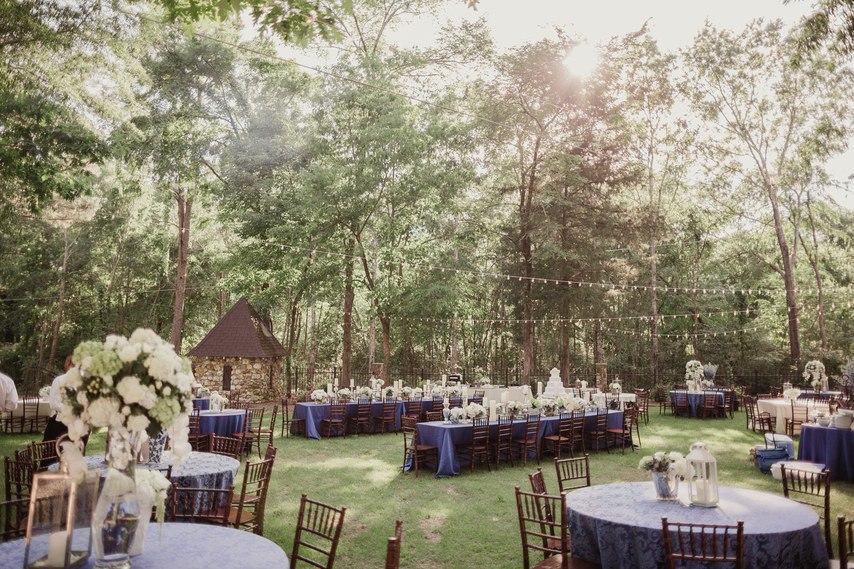 Свадьба на природе (16 фото)