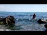 Нудисты в Одессе. Чкаловский пляж. Nudists in Odessa.