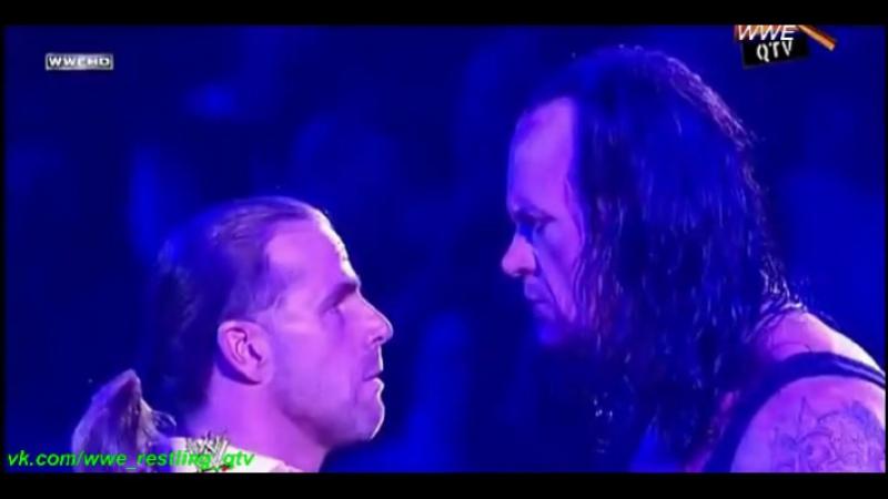 [WWE QTV[Cамці Савців]☆[WrestleMania XXV[25]Promo]The Undertaker vs Shawn Michaels]☆[Гробовщик про Шона Майклза]