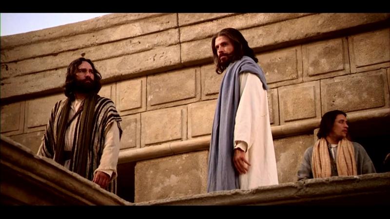 Иисус учит о лепте вдовы