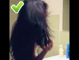 Ошибки при сушке волос