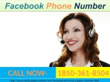Facebook Phone Number, and then I call on 1-850-361-8504 &amp flush away all my problems