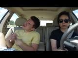 Когда услышал любимую музыку в машине!XD
