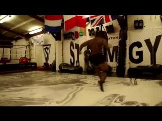 Тренировка бойца ММА, классная мотивация мужики